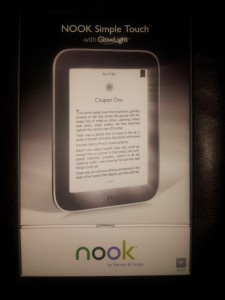NOOK Simple Touch with GlowLight (at Staples!) Review