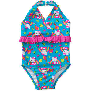 Cute! Girls Hello Kitty Swimsuits On Sale At Walmart – $10