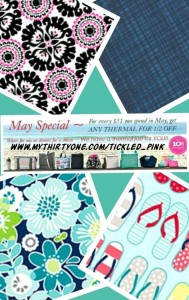 thirty one may customer special
