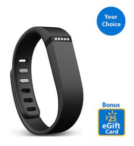 Walmart Deal : FitBit Flex for $99.95 + Get a $25 E-Gift Card