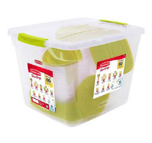 Walmart Deal : Rubbermaid 60-Piece Plastic TakeAlongs Set Only $19 Shipped (Reg. $65.00)