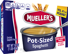 Review: Mueller's Pot-Sized Pasta + Kitchen Shortcuts