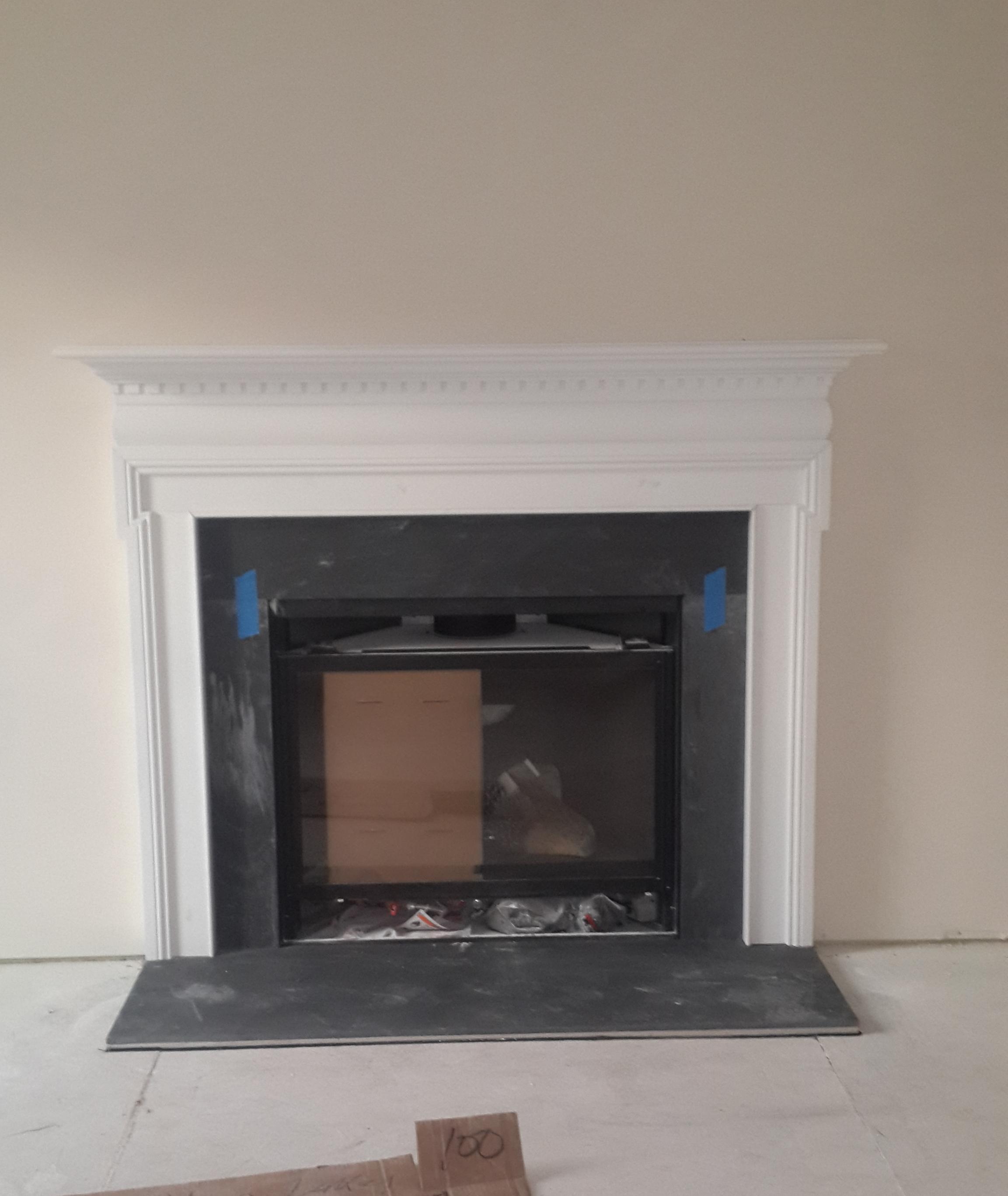 ryan homes fireplace