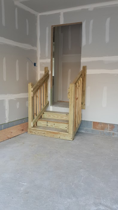 ryan homes garage steps