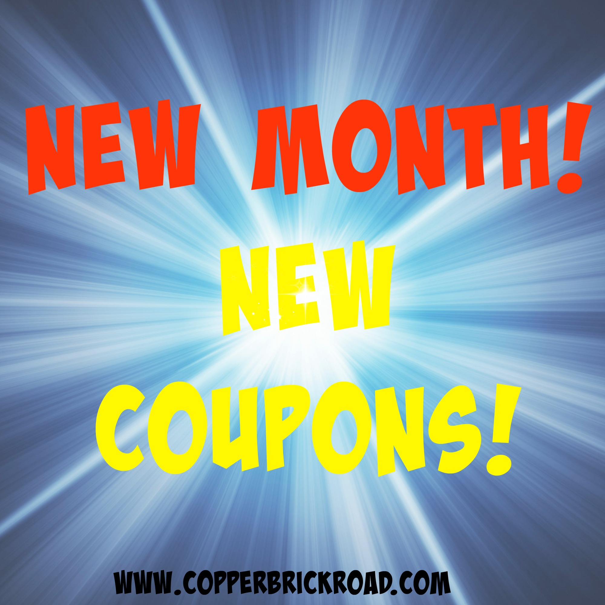 new month new printable coupons