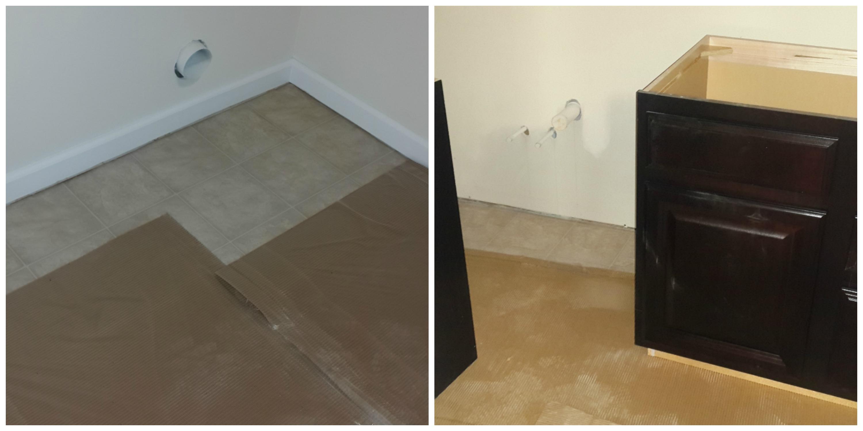 vinyl flooring ryan homes